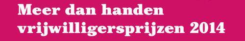 Genomineerden vrijwilligersprijzen 2014 bekendgemaakt