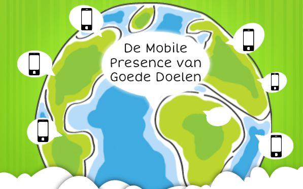 Mobile presence goede doelen onder de maat
