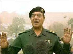 Wij horen hier de voormalige Iraakse minister van propaganda Muhammed Saeed.