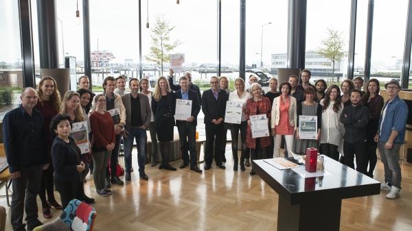 Winnaars Vakjuryprijzen: Amnesty International, Vereniging van Nederlandse Voedselbanken en Nicolaas G. Pierson Foundation.