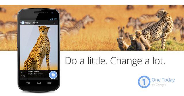 Google lanceert goede doelenapplicatie