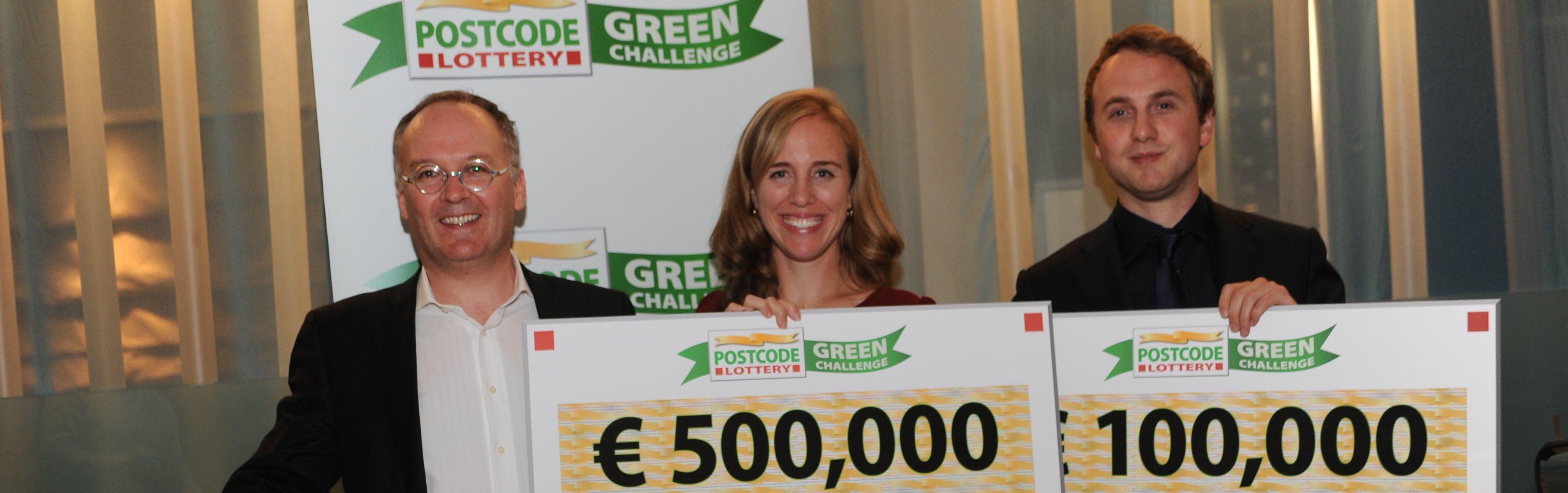 Prijzen Postcode Lottery Green Challenge uitgereikt
