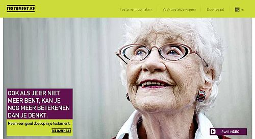 Vijf procent Belgen zegt volledige erfenis aan goed doel te schenken