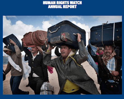Human Rights Watch annual report