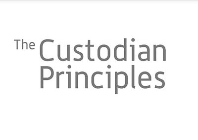 The Custodian Principles – wat is de rol van een Custodian?