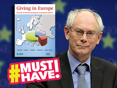 Van Rompuy: 'There wouldn't be no Europe without philanthropy'