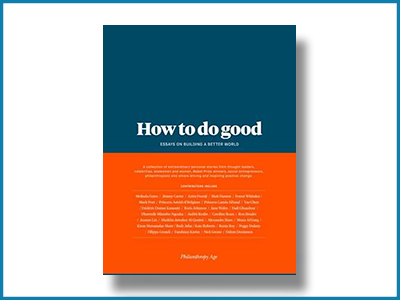 How to do good: filantropie-essays met impact