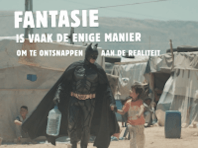 War Child dingt mee naar de The Golden Radiator Award met de Batman campagne