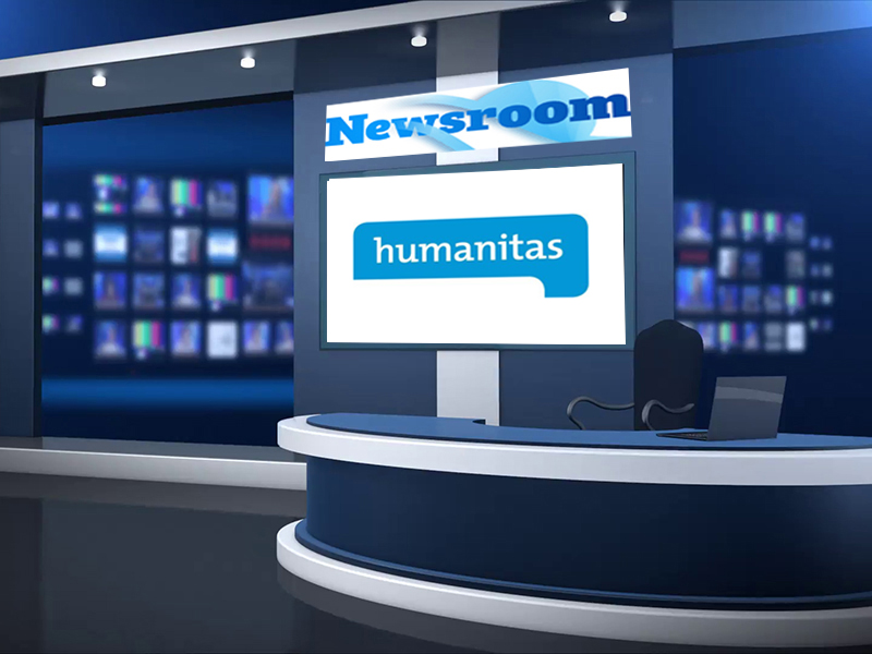 Welkom in de Newsroom van... Humanitas