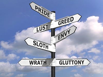 The seven deadly sins...