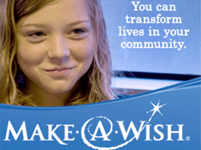 Make-a-Wish advertentie