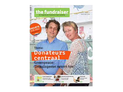 The Fundraiser Magazine #2: Donateurs centraal!