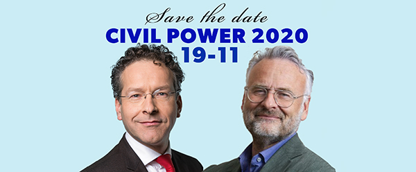 Save the date 19-11: Civil Power is relevanter dan ooit