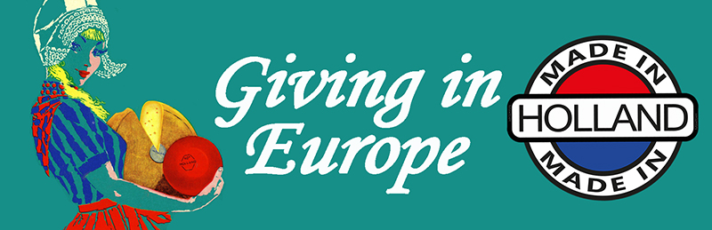Giving in Europe: een pan-Europese prestatie op basis van een Nederlands model