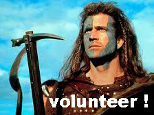 Schotse les in vrijwilligerswerk: Volunteer the Brave!