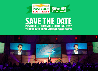 14 september: Postcode Lottery Green Challenge