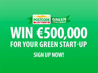 Pitchen Postcode Lottery Green Challenge van start