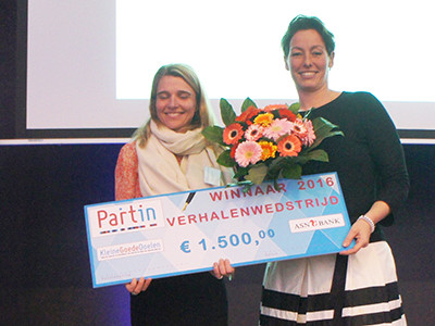 Reframing the message: Partin kiest weer beste projectverhaal