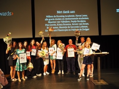 Stichting Bite Back wint de NRC Charity Awards 2017.
