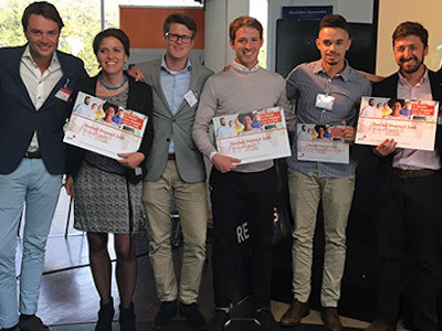 Rebottled, SweepSmart en Vinculum zijn verkozen tot winnaars van Social Impact Lab 2017