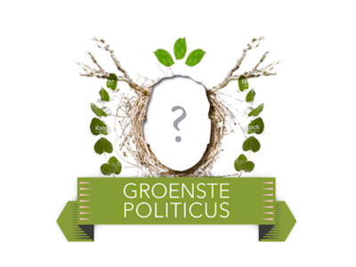 De verkiezing Groenste Politicus van het Jaar is van start gegaan. Er kan gestemd worden tot en met 15 december