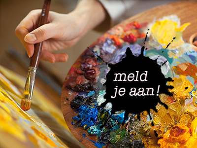 Ambassadeurs goede doelen laten zich schilderen
