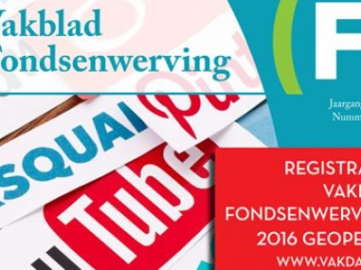 Uitgeverij Vakblad Fondsenwerving failliet; Vakdag afgelast