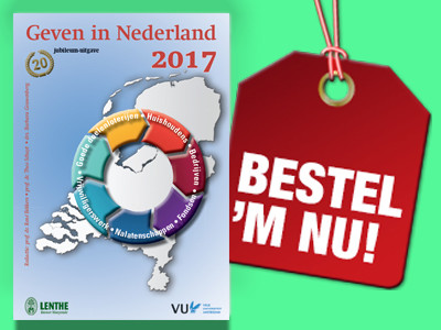 Bestel nu de jubileum-editie van Geven In Nederland 2017