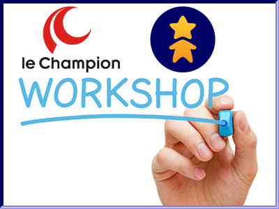Samenwerking PIF World en Le Champion: workshops eventraising