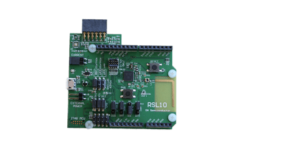 ON Semiconductor Radio SoC Evaluation Board + Multi Sensor Board​