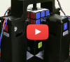 Rubik's Cube in 1 second, less time than it takes to say it!