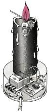 Kleine Schaltungen neu aufgelegt: Elektronische Kerze – Folge 8