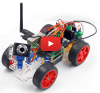 Smart Video Car Kit voor Raspberry Pi