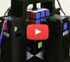 Rubik's kubus opgelost in één seconde!