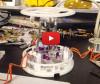 Via GIF-animaties communicerende robot met Raspberry Pi & Arduino