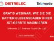 Distrelec-Webinar: Bauteilqualifizierung und Batteriesimulation