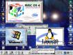 Screenshot van RISC OS4 door Richard Butler