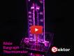 IN-9 Nixie Bargraph Thermometer met kleurig verlichte schaal