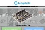 Sign up for your Elektor Uno R4 at GroupGets
