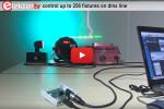 Isolated (<1 kV) USB/DMX512 converter