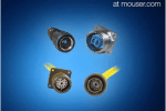 Now at Mouser: Amphenol FSI's Fiber Optic Connectors for Aviation and Military Applications