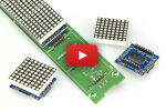 Scrollendes WLAN-Text-Display: 512 LEDs & ESP-12