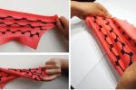 Dehnbare Batterie aus Textilien