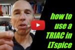 Comment utiliser un TRIAC dans LTSPICE