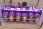Meerkleuren-backlight voor de 6-cijferige Nixie-klok