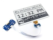 "Waveshare 7.5"" E-Ink Display HAT for Raspberry Pi"