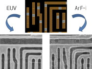EUV offers superior pattern fidelity