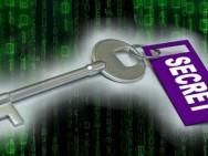 Den Schlüssel für geheime Nachrichten sicher verschicken