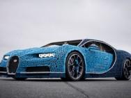 Das Lego-Replikat des Bugatti Chiron