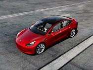 Modell 3. Bild: Tesla